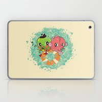 The Pond Lovers - Mr. Fr… Laptop & iPad Skin