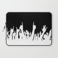 Audience Poster Background Laptop Sleeve