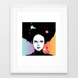 Framed Art Print - If You Were My Universe - Norman Duenas