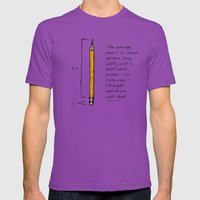 Optimism  Mens Fitted Tee Ultraviolet SMALL