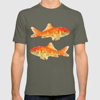 Fishy Mens Fitted Tee Lieutenant SMALL
