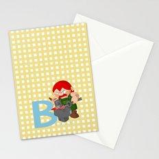 b for blacksmith Stationery Cards