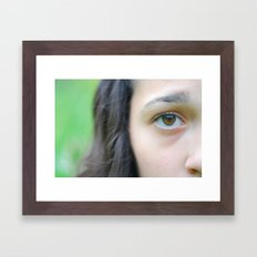 Simplicity. Framed Art Print