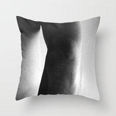Form V Throw Pillow