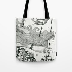 East of Blue Lake Tote Bag