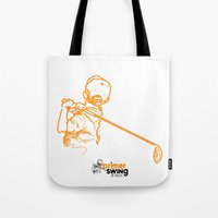 Primer Swing By Piza Gol… Tote Bag