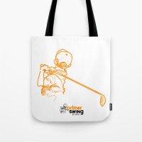 Primer Swing by Piza Golf Design Tote Bag