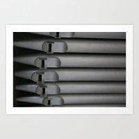 organ pipe Art Print