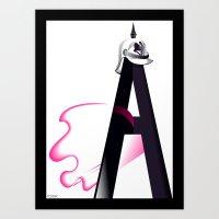 Tyranny of the Alphabet Art Print