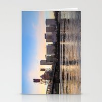 That Portland Skyline 2 Stationery Cards