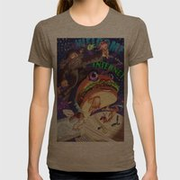 Welcome to the internet Womens Fitted Tee Tri-Coffee SMALL