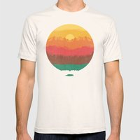 Layers Of Nature Mens Fitted Tee Natural SMALL