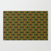HobNob Camo Multi Canvas Print