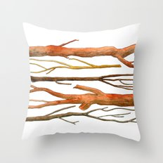 sticks no. 2 Throw Pillow