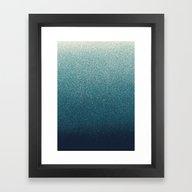 Framed Art Print featuring STARDUST / Aquarius by DANIEL COULMANN