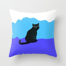 Cats Life 2 Throw Pillow