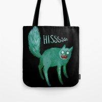 Hissy Kitty Tote Bag