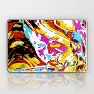 Laptop & iPad Skin featuring Woman by Stephen Linhart