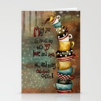 May Your Cup Runneth Over Stationery Cards