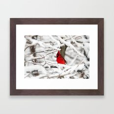Standing out Framed Art Print