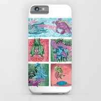 iPhone & iPod Case featuring Superheroes SF by James Burlinson
