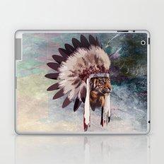 Tiger in war bonnet Laptop & iPad Skin
