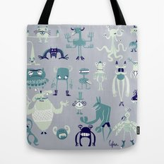 Monsters! Tote Bag