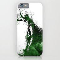 Loki Watercolor iPhone 6 Slim Case