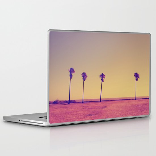 Four Palms In Paradise Laptop & iPad Skin