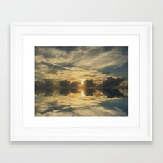 Ocean Smooth #2 Framed Art Print