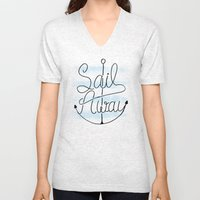 Sail Away Unisex V-Neck