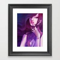 Pink Glaze Framed Art Print