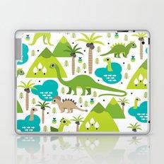 Dinosaur illustration pattern print Laptop & iPad Skin