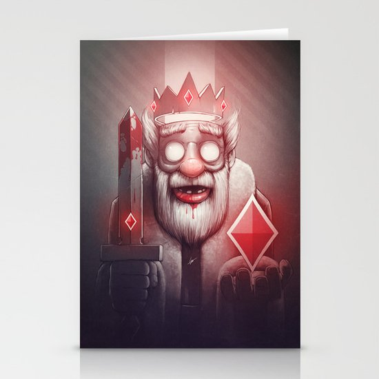 King of Doom Stationery Card