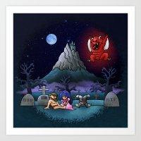 Midsummer Nightmare Art Print