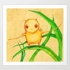 Sunshine bug Art Print