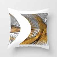 Retro Revival Throw Pillow