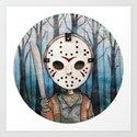 Cute Jason Voorhees  Art Print