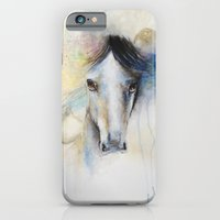 Horse Watercolor Painting iPhone 6 Slim Case
