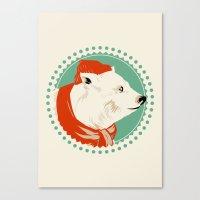 The Life Arctic Canvas Print