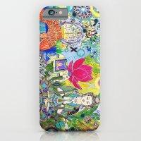 Green Tara in Paradise iPhone 6 Slim Case