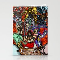 Knights of the Round Stationery Cards