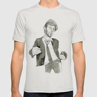 Tom Waits: The Early Yea… Mens Fitted Tee Silver SMALL