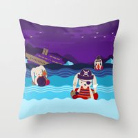 SEAWORTHY? Throw Pillow