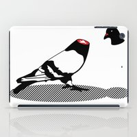 Pigeon and head iPad Case