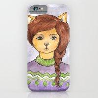Plait Cat iPhone 6 Slim Case