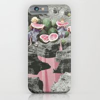 iPhone & iPod Case featuring Watermelon Watermarks by Eugenia Loli