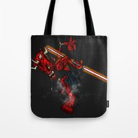 Zombie Darth Maul Tote Bag