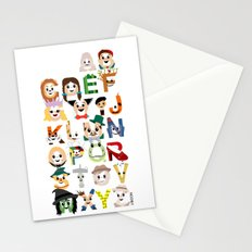 Oz-abet (an Oz Alphabet) Stationery Cards