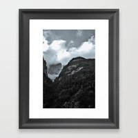 Peak  Framed Art Print